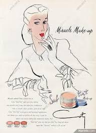 coty cosmetics 1944 make up lipstick