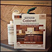 Rustoleum Kitchen Cabinet Rust Oleum Cabinet Transformations Pickled Oak To Gingerbread