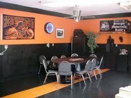 Full Image For Harley Garagejpg Help Me Pick A Mancave Paint Schemebest Color For Garage Walls