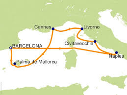 7 night western terranean from barcelona cruise