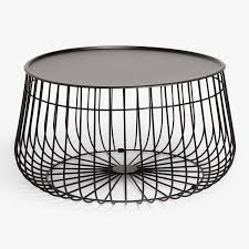 Coffee Tables With Basket Storage Stacked Basket Storage Side Table Ospi 2 Tier Side Table End