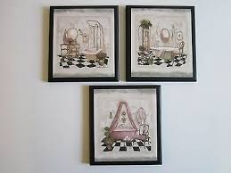bathroom wall decor plaques pictures
