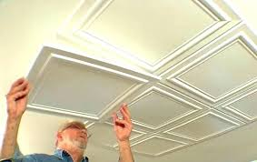 ceiling tile installation cost how to install ceiling tile
