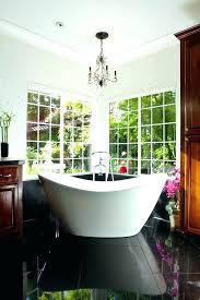tubular chandelier over bathtub modern google search tub a free standing bath