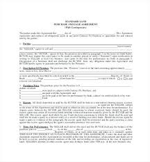 Buy Sell Agreement Template Free Download Business Purchase Car ...