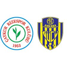 Kết quả hình ảnh cho Rizespor vs Ankaragucu