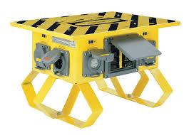 hubbell wiring device kellems sbtl2 spider box twist lock
