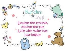 baby shower poem about twins