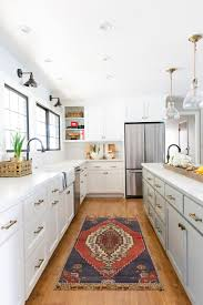 Modern Farmhouse Kitchen Remodel Project Tree Lined White Pencil