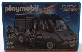 Playmobil City Action Police Van With Lights And Sound 6043 Playmobil City Action Police Van With Lights And Sound By