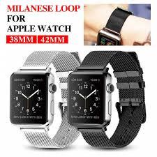 mu sen wristband for apple watch bracelet belt black watchbands genuine leather strap watch band 38mm 42mm iwatch series 3 2 1 malaysia