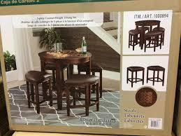 impressive round tables costco 1 winsome