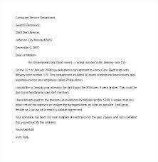 complaint letter template complaint letter sample poor  complaint letter template personal business complaint letter template example