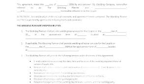 Free Service Contract Template Draft Service Contract Template