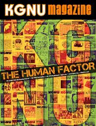Kgnu Magazine 2019 The Human Factor Issue By Kgnu Am Fm