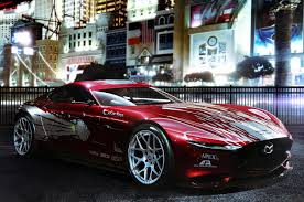 mazda rx7 fast and furious. the fast and furious modern renders mazda rx 7 vision concept rx7
