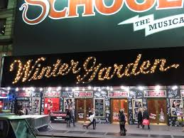 Winter Garden Theatre On Broadway In Nyc