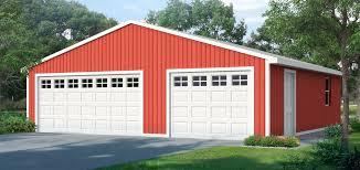 9 x7 16 x7 overhead doors 3 car garage elevation b cover