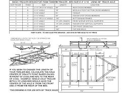 95 tandem trailer parts kit 12 000lbs gvwr