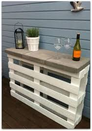 using pallets for furniture. Love This Idea Of Using Pallets For An Outdoor Table! No Link To A Website Furniture