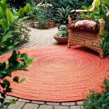 round patio rugs beautiful modern round outdoor rug