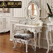new french clical bedroom furniture white dressing tables vanity desk luxury dresser with solid wood frames