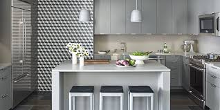 House Beautiful Kitchen Design Gray Kitchen Ideas Kitchen Of The Month April 2016