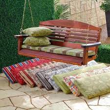 outdoor swing chair cushions outdoor porch swing cushions outdoor three seat swing cushions