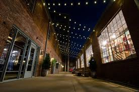 commercial commercialcourtyard festoon lighting by outdoor lighting perspectives of nashville