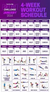this 28 day challenge will get you to actually start working out win fitness workout challenge workout