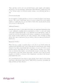 Nail Salon Business Plan Template Sample Pdf