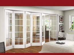 astonishing interior half glass door interior glass folding doors internal folding doors half folding