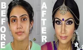 amazing makeup transformation indian weding makeup indian bollywood south asian bridal makeup