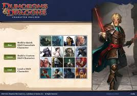 dungeons and dragons character sheet online d d next and the fate of character builder dungeons master