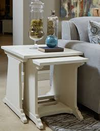 nesting end tables. Coventry Lane Antique White Nesting End Table Media Gallery 1 Tables S