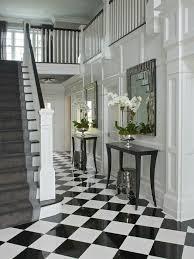 black and white tile floor. Pin By Alex On FOYER | Pinterest Foyers, Flooring Ideas And Front Entry Black White Tile Floor
