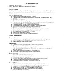 Outstanding Cashier Jobcription For Resume Template Responsibilities ...