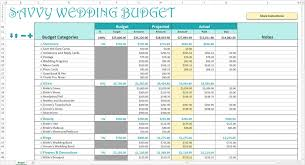 Wedding Budget Checklist In Excel