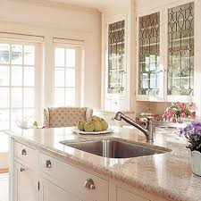 decorative glass inserts for kitchen cabinets photo