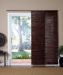 curtains over sliding glass door a