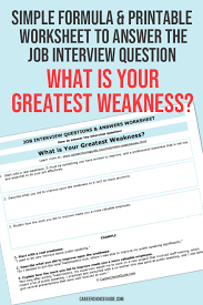 How To Answer Job Interview Questions What Are Your Greatest Weaknesses Ace This Tough Interview