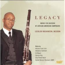 AfriClassical: Myrtle Hart Society: 'Legacy: works for bassoon by  African-American composers' by Dr. De Lerma