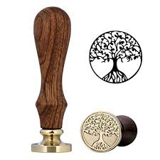 tree of life wax seal st yoption vine retro life tree wax st clic seal