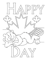 Color (or leave) the middle stripe white. Picture Of Canada Flag Coloring Home