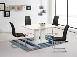 gl top dining tables for clic room ideas hafoti table and grey chairs with inside art
