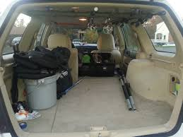 ceiling rod rack for a suv stationwagon
