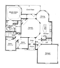 2storyhousewithaporch  Story 3 Bedroom 25 Bath Country Country Style Open Floor Plans