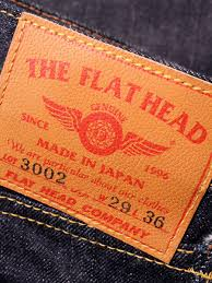 The Flat Head 3002 Size Chart 3002 14 5oz Pioneer Series Slim Straight Jeans