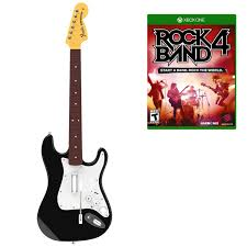 guitar hero live guitar controller xbox one amazon co uk rock band 4 guitar and xbox one software bundle