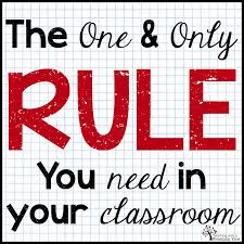 teaching a mountain view the one rule classroom just a the one rule classroom just a little respect